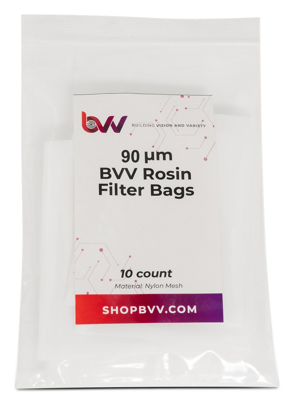 Small Rosin Filter Bags - 10 Pack Shop All Categories BVV 90