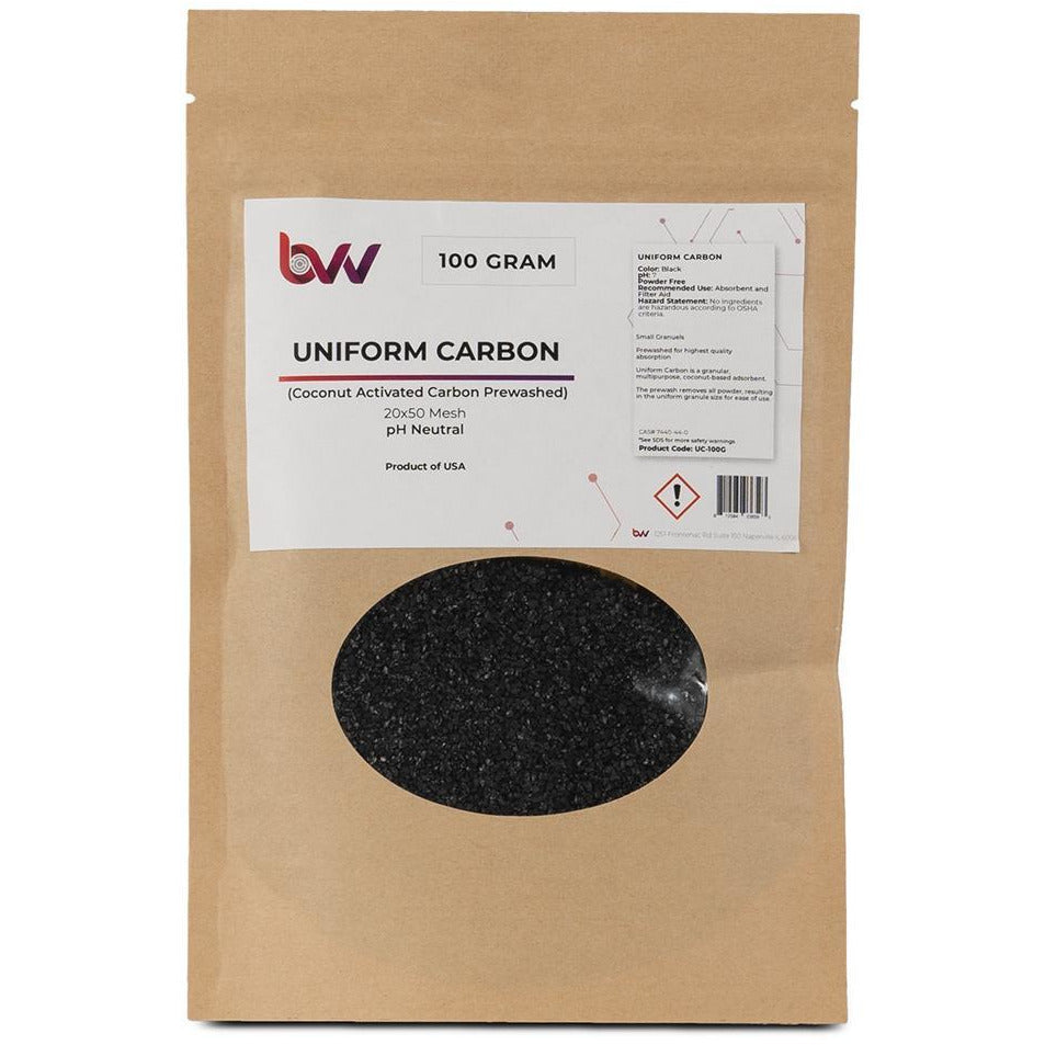Uniform Carbon Pre-Washed New Products BVV 100 Grams