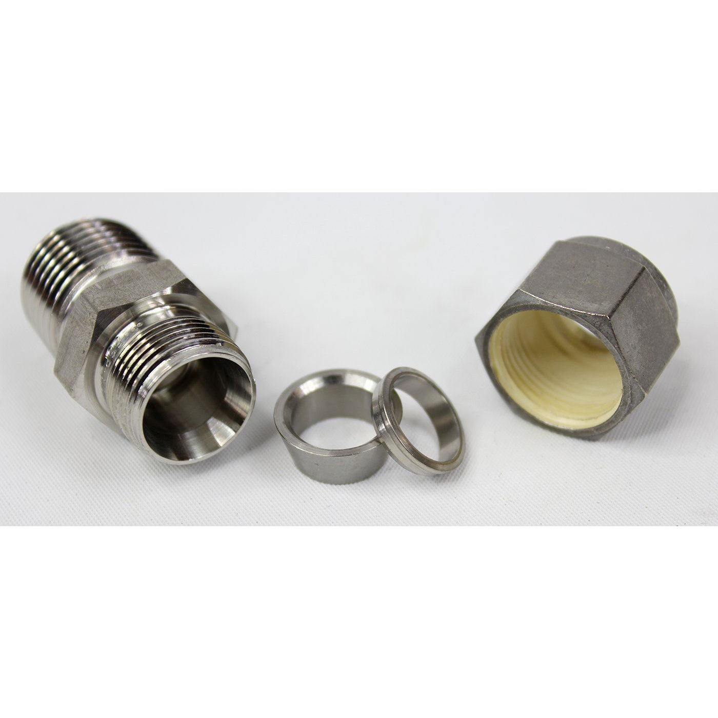 SSP - Male Connector Bore Through Shop All Categories SSP Corporation