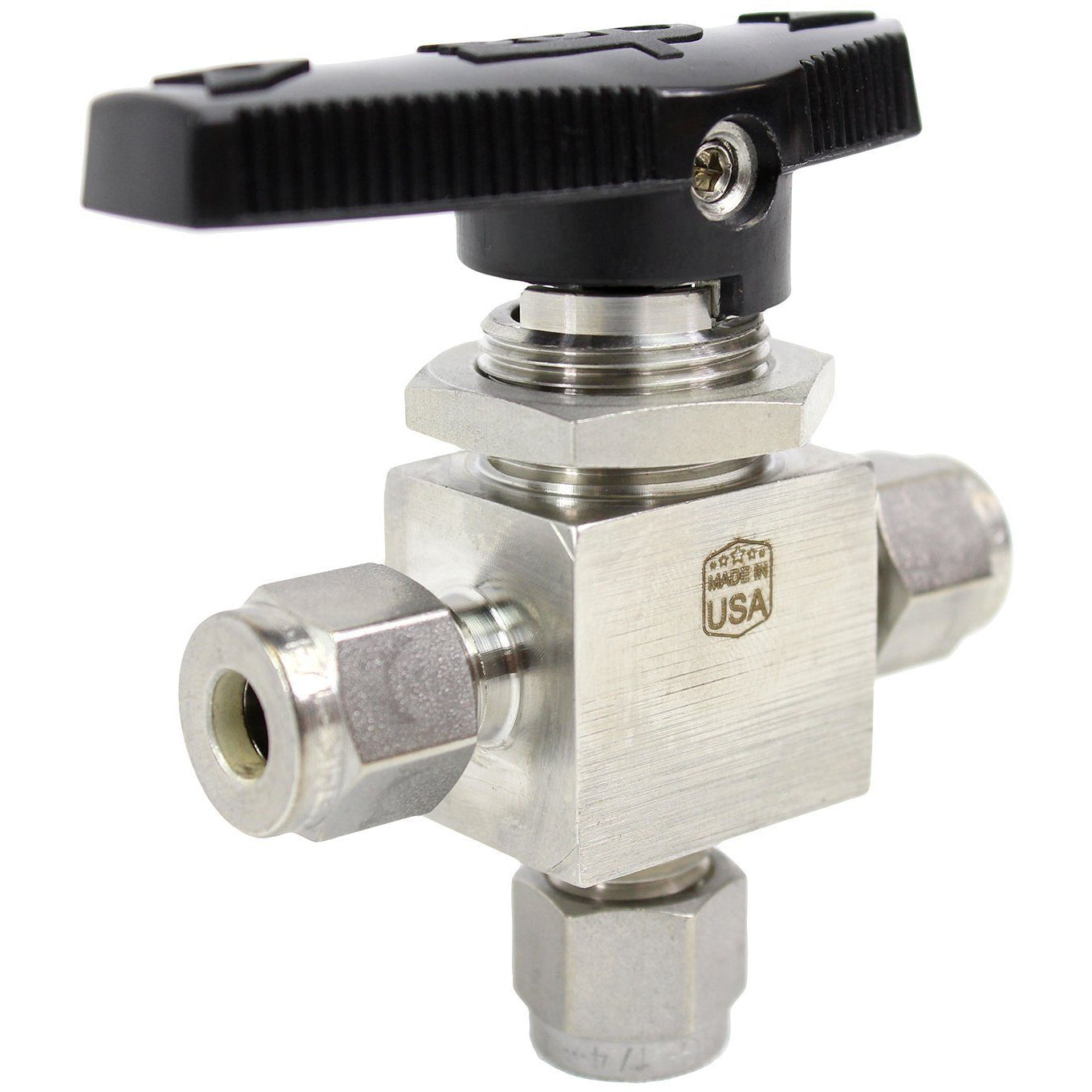 SSP - 3 Way Ball Valve - Fractional Tube Fitting Shop All Categories SSP Corporation