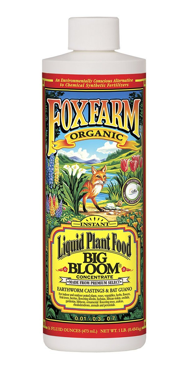 FoxFarm Big Bloom Liquid Concentrate, 1 pt FoxFarm