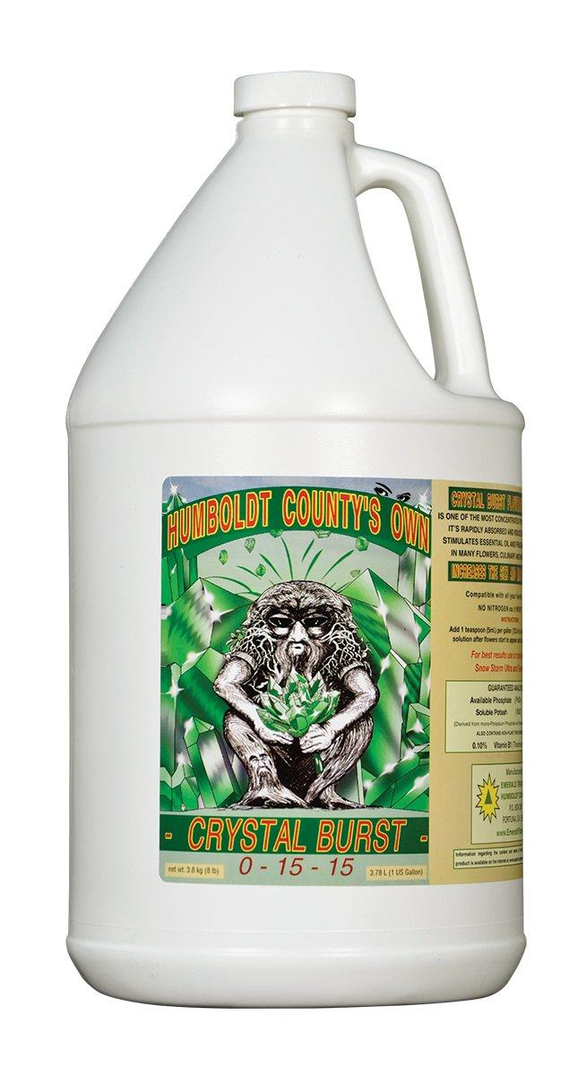 Crystal Burst, 1 gal Emerald Triangle