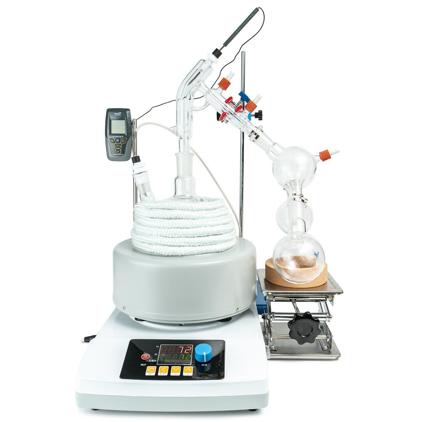 2L Short Path Distillation Kit set up