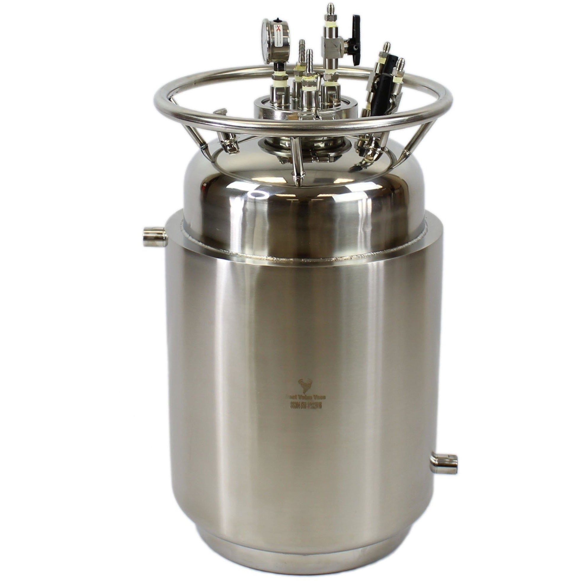 Jacketed Stainless Steel LP Tank with Internal Condensing Coil and Dip Tube Shop All Categories BVV 25#