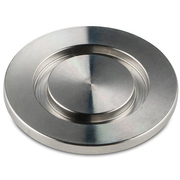 KF-25 Stainless Steel Solid End Cap BVV