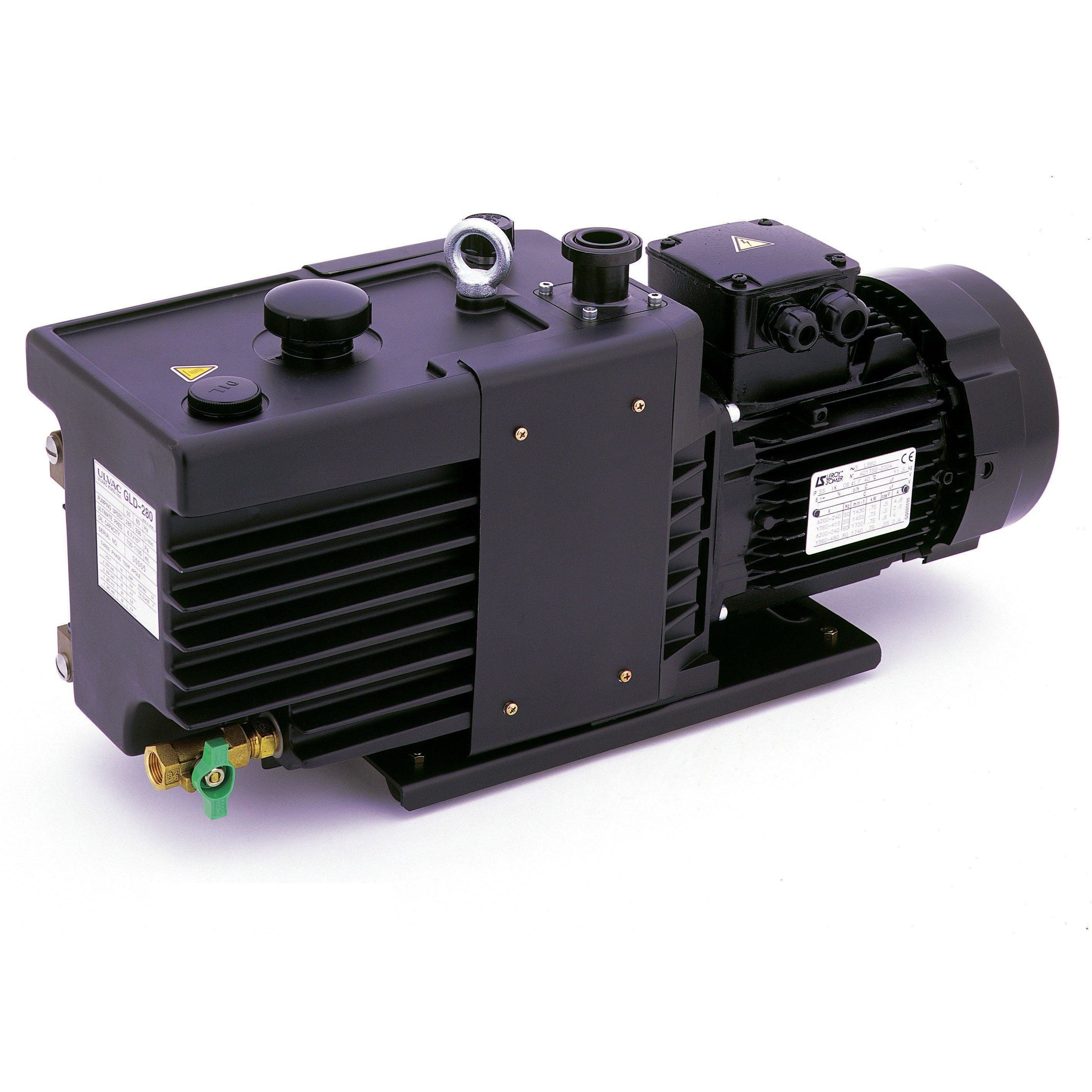 ULVAC GLD-280 Direct Drive Oil-Sealed Rotary Vacuum Pump New Products ULVAC