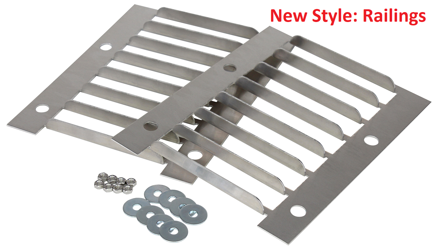 New Style Oven Railings