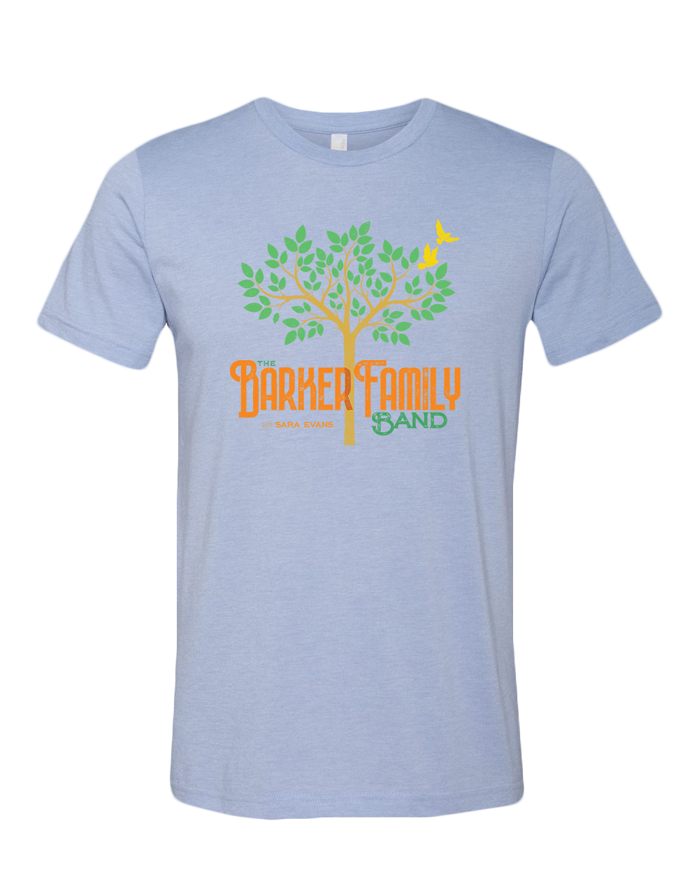 The Barker Family Band Tee