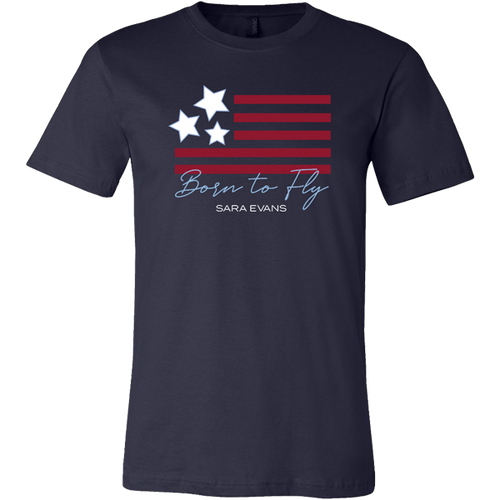 Born To Fly Navy Tee