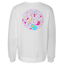 Load image into Gallery viewer, White Crewneck Sweatshirt
