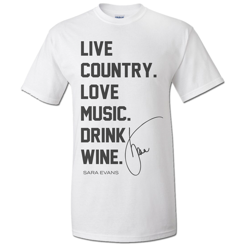 Live Country Music Unisex Tee