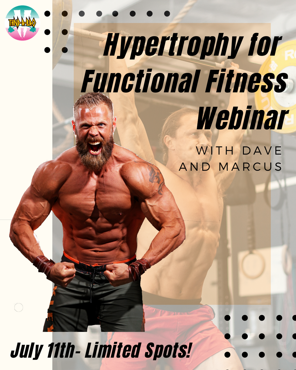 Hypertrophy for Functional Fitness Webinar with Dave Lipson and Marcus Filly