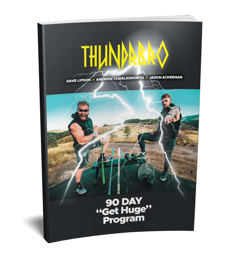 "90 Day ""Get Huge"" Training Program (Paperback)"