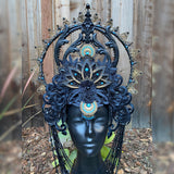 Shiva Crown- dark Goddess