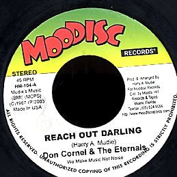 DON CORNEL & THE ETERNALS [Reach Out Darling]
