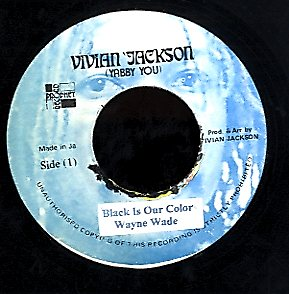 WAYNE WADE [Black Is Our Colour]