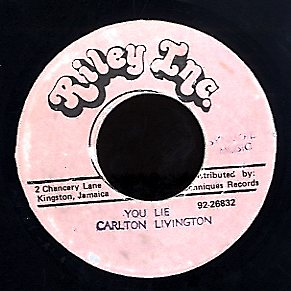 CARLTON LIVINGSTON [You Lie]
