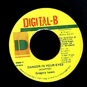 GREGORY ISAACS [Danger In Your Eyes]