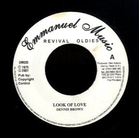 DENNIS BROWN [Look Of Love]
