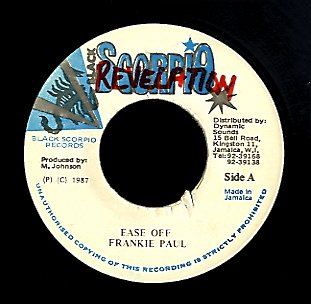 FRANKIE PAUL [Ease Off]