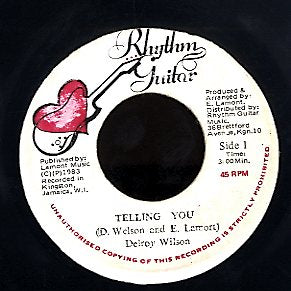DELROY WILSON [Telling You]