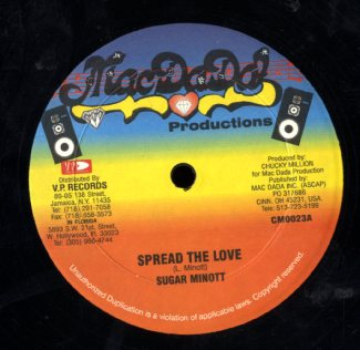 SUGAR MINOTT / CORNELL CAMPBELL [Spread The Love /  In Paradise]