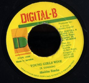 SHABBA RANKS [Young Girls Wine]