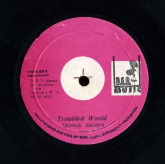 DENNIS BROWN [The Half / Trouble World ]
