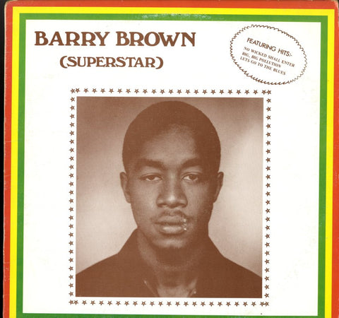 BARRY BROWN [Superstar]