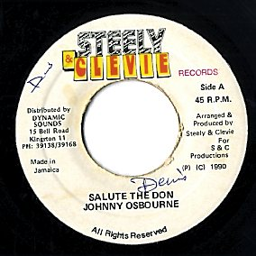 JOHNNY OSBOURNE [Salute The Don]