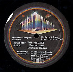 GREGORY ISAACS [The  Village / Just Having Fun]