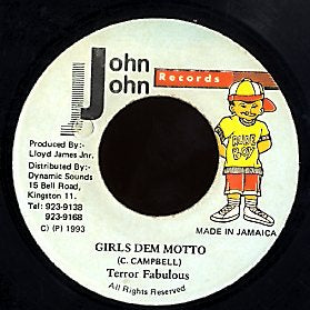 TERROR FABULOUS [Girls Dem Motto]