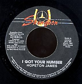 HOPETON JAMES [I Got Your Number]