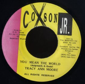 TRACY ANN MOORE [You Mean The World ]