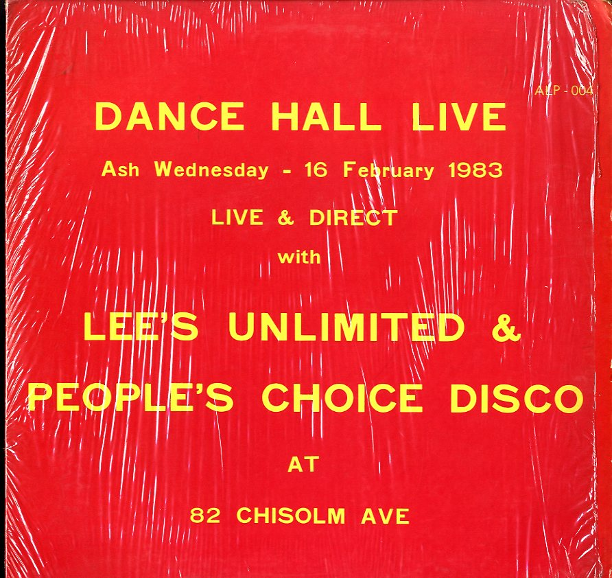 V.A [Dancehall Live At 82 Chisolm Avenue]