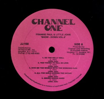 FRANKIE PAUL / LITTLE JOHN [Show Down Vol. 6]