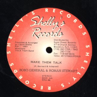 ROMAN STEWART & BOBO GENERAL / ROMAN STEWART  [Make Them Talk / Silouhette ]