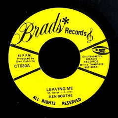 KEN BOOTHE [Leaving Me]