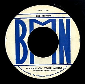 MAYTALS [Never You Change / What's On Your Mind]