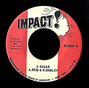 A REID & ROY SHIRLEY [A Suger]