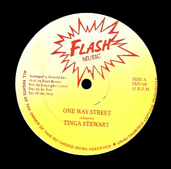 TINGA STEWART [One Way Street]