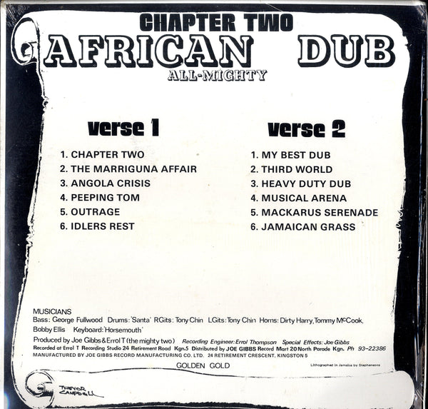 AFRICAN DUB CHAPTER 2 [African Dub Chapter2]