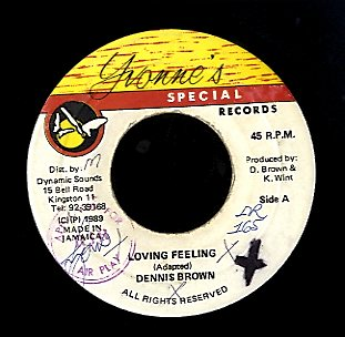 DENNIS BROWN [Loving Feelings]