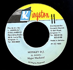MAJOR MACKREL [Monkey D.j]