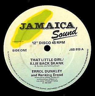 ERROL DUNKLEY / RANKING DREAD [That Little Girl]