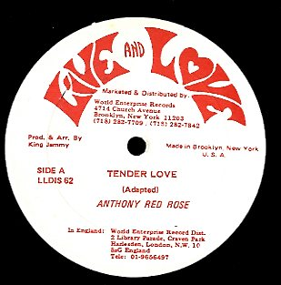 ANTHONY RED ROSE / TINGA STEWART [Tender Love (Love Got A Hold) / Aware Of Love]