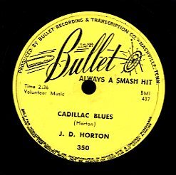 J. D. MORTON [Cadelac Blues / Why Don't You Let Me Be]