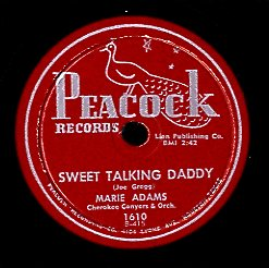 MARIE ADAMS [Sweet Talking Daddy / My Song]
