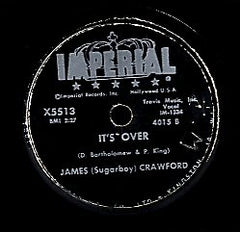 JAMES CRAWFORD [It's Over / I Need Your Love]