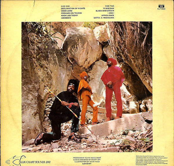 THE ABYSSINIANS [Forward On To Zion]